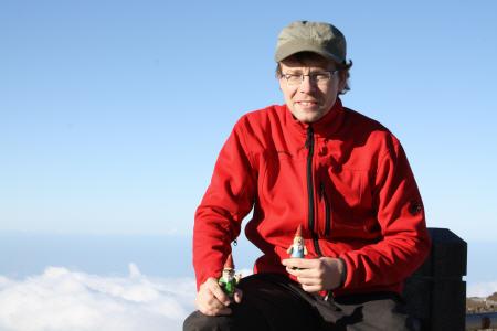 Mit den Gnomads auf 3000 m ?ber den Wolken.